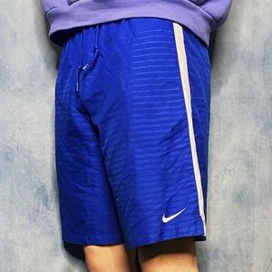 Blue Nike Gym Shorts